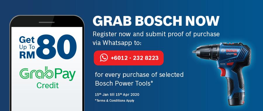 Grab Bosch Now
